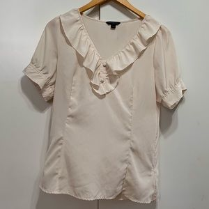 Banana Republic large cream blouse